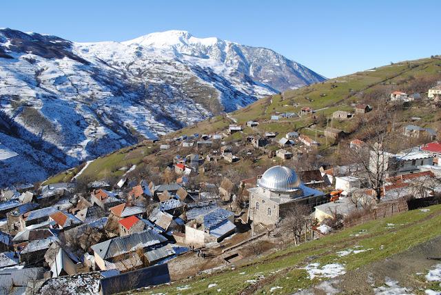 Fshati Borje... afer kufirit Shqipëri-Kosovë.