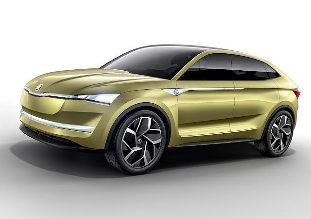 2017 Skoda Electric Vision E Concept - #Skoda #Electric #Vision #Concept_car