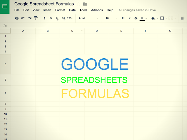 List of 15 Useful Google Spreadsheet Formulas and Functions You Must Know