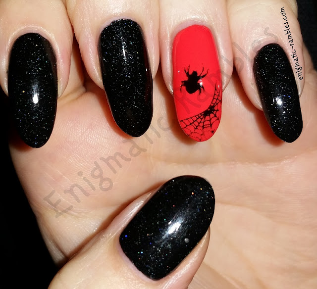 halloween-nails-nail-art-stamping-stamped-spider-spiders-web-webs