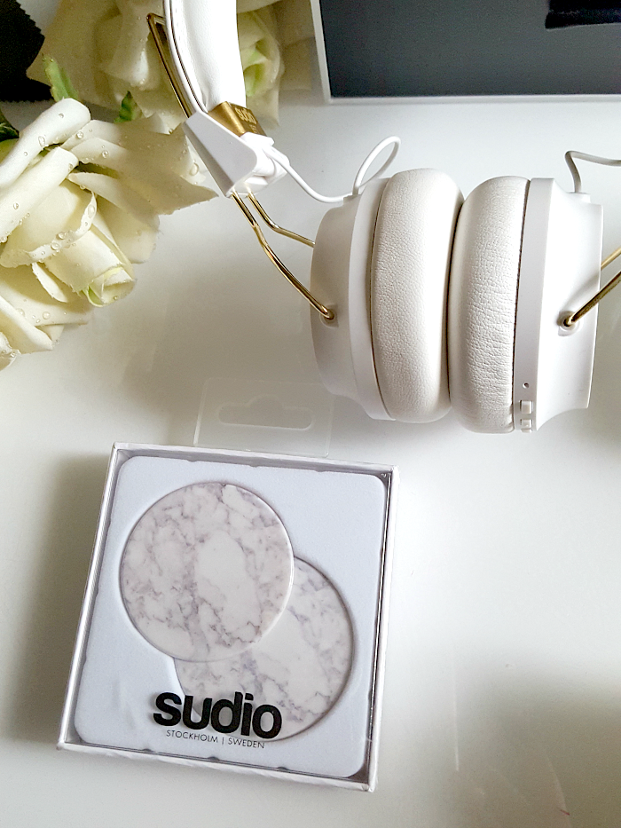 review: Sudio Sweden - Regent White On-Ear Bluetooth Headphones marble caps austauschbar