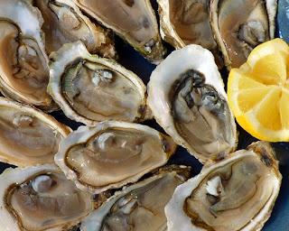Os alimentos mais ricos em zinco - ostras