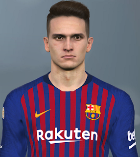PES 2017 Faces Denis Suárez by Facemaker Huseyn