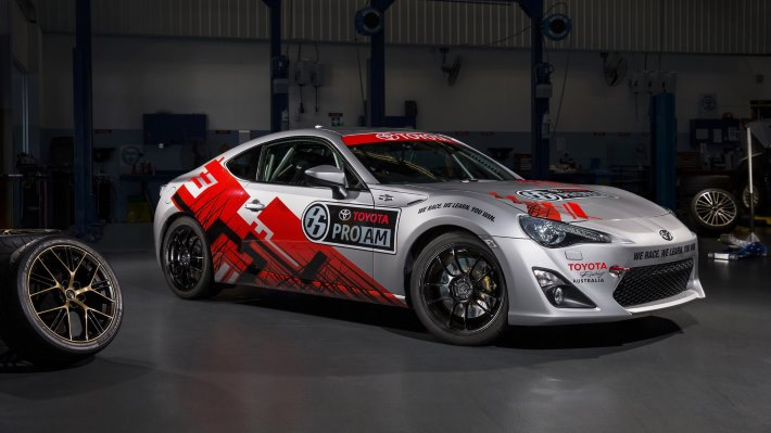 Wallpaper: Toyota 86 Pro-Am front side