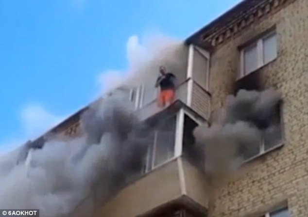 This Courageous Father Threw His Kids And Wife Out Of The Window Of The Building And This Is Why!