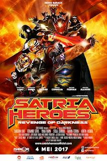 Download Satria Heroes: Revenge of Darkness 2017 SDTV