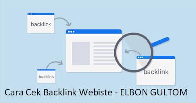 Cara Cek Backlink Webiste