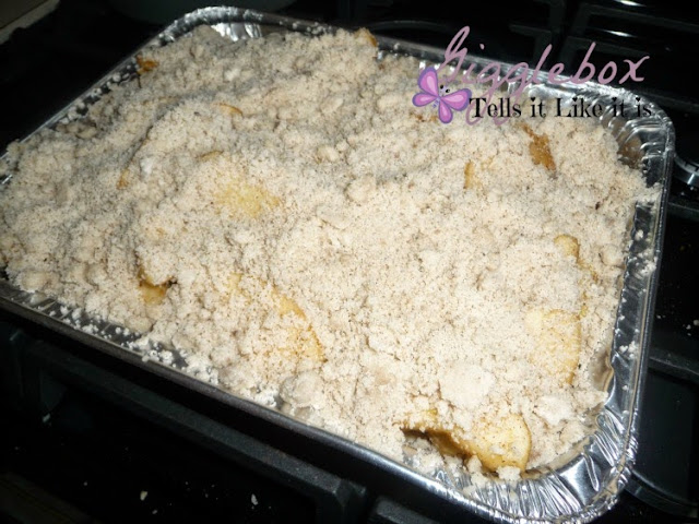recipe, desert, apple crisp, gluten free,