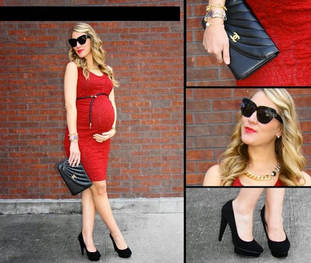 91bf2a459 Otra opción son los vestidos que tienen el corte debajo de la barriga