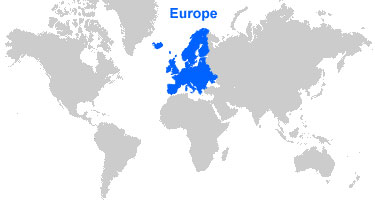 image: Europe Map Location