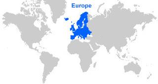 image: Europe Map Location