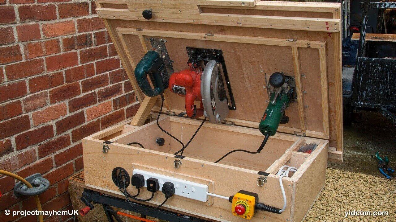 Hagalo usted mismo sierra circular casera con mesa - Como construir una mesa ...