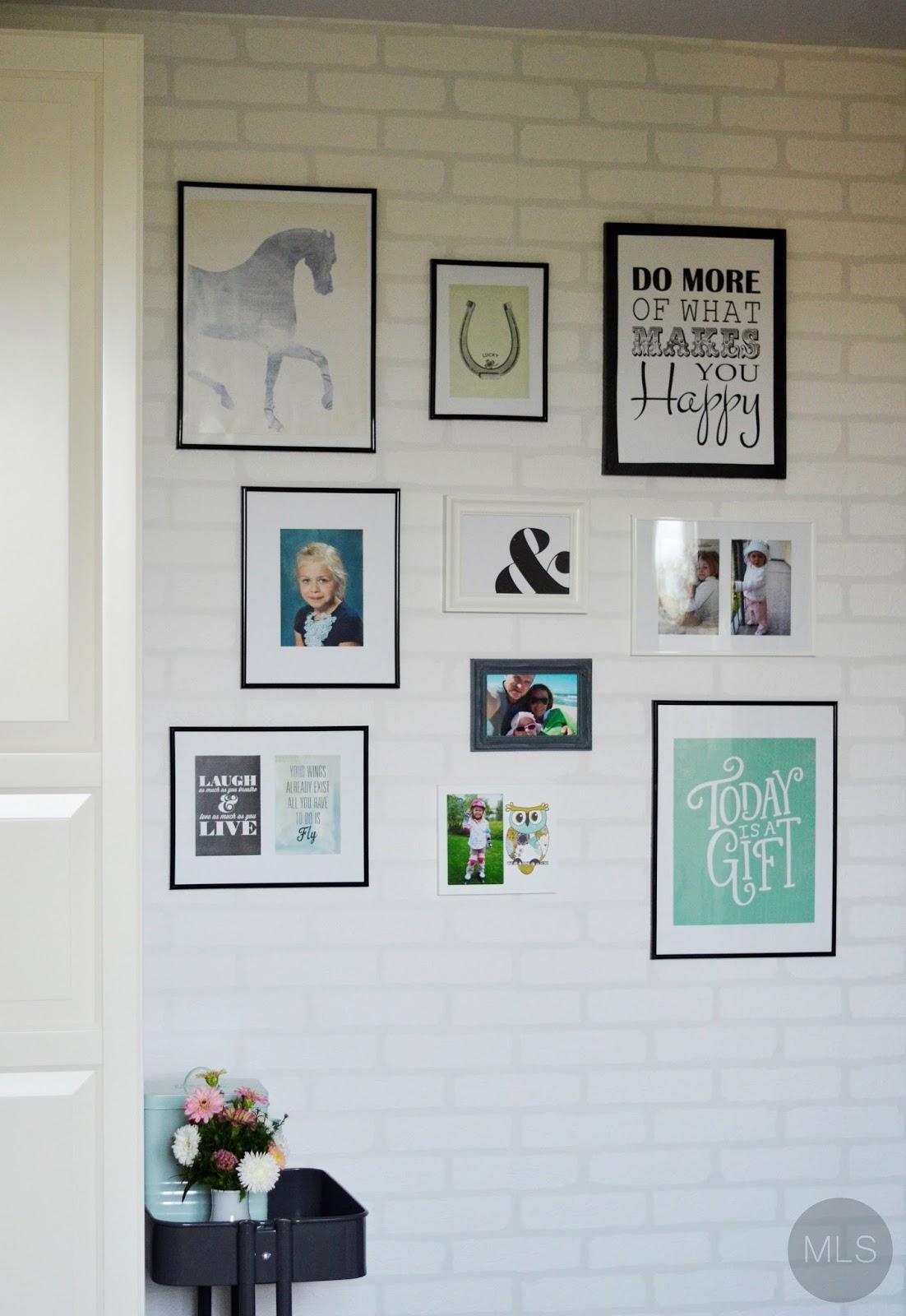 Pokój nastolatki - kolor i galeria na ścianie