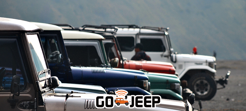 GO-JEEP - Open Trip Bromo Midnight Adventure