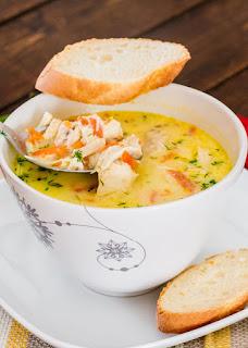 Вкусна топла супа