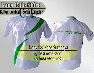 Order Kaos Polo Shirt Bordir Murah di Surabaya, Tempat Pesan Kaos Polo Shirt Bordir Murah di Surabaya