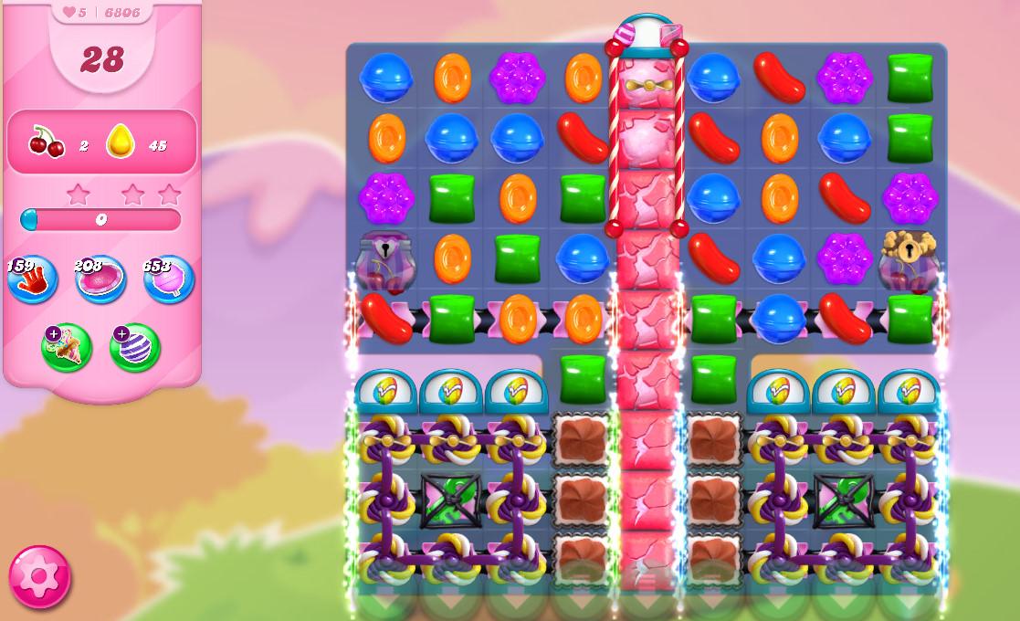 Candy Crush Saga level 6806
