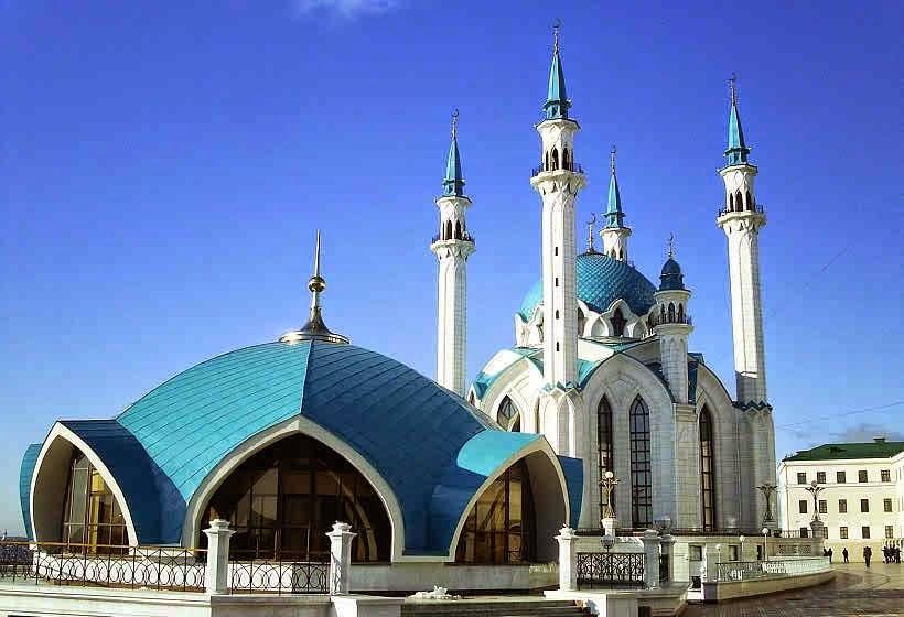 ini 6 Kubah Masjid yang sangat indah dan rekomended, lengkap dengan ukuran diameter dan tinggi