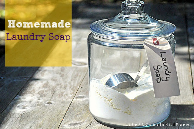 Homemade Powdered Laundry Detergent that works