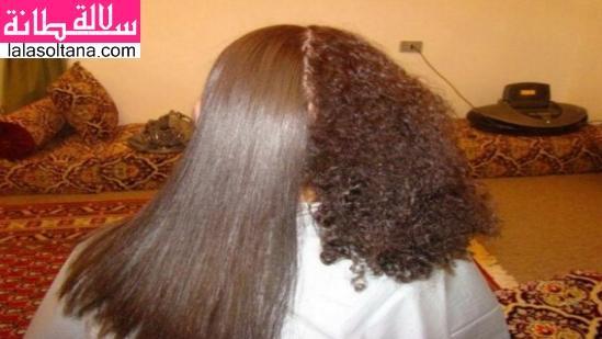 ترطيب الشعر المجعد والمقصف والضعيف