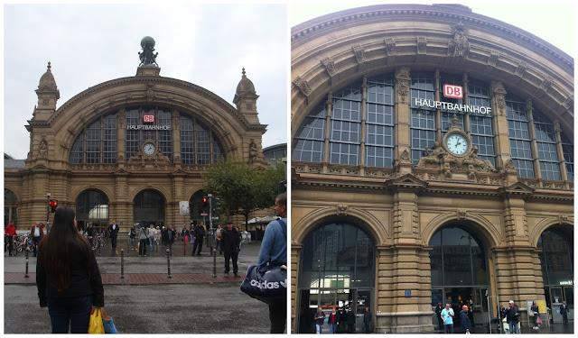 Frankfurt Hauptbahnhof - estação principal de trens