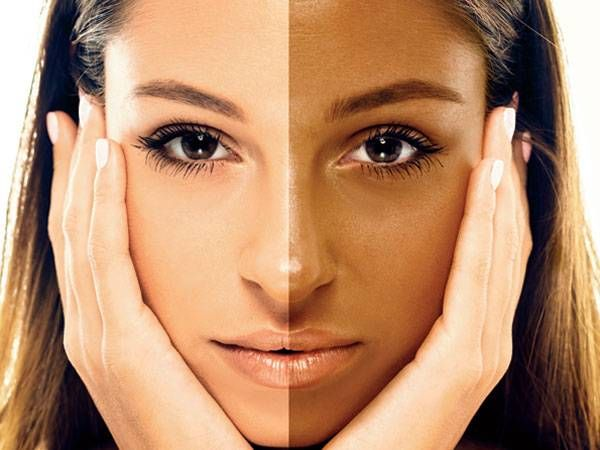 how to remove tanned skin to look beautiful