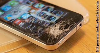 Bahaya menggunakan smartphone layar retak