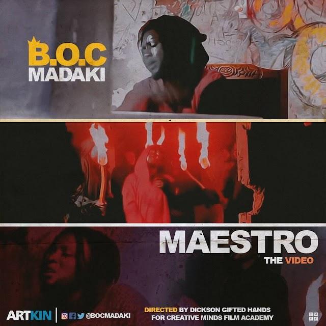 #VIDEO: B.O.C MADAKI- MAESTRO