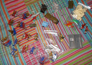 Mixed Plastic and Other Vintage and Modern Toy Soldier Model Figure and Other Accessories Tatra Dime Store Dreams Vitacup Animals Warriors Of The World Biscuit Premiums Jeep