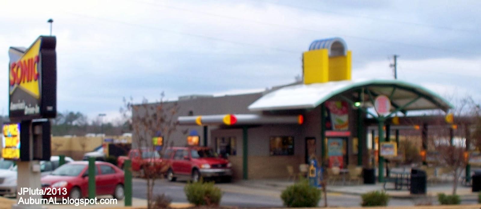 Sonic Food Restaurant Store In