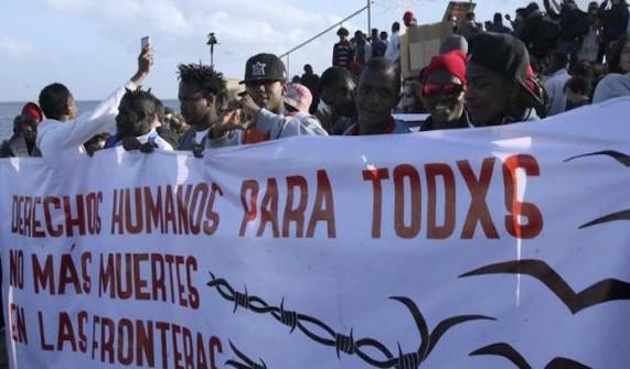 Una marcha exige en Ceuta que las políticas migratorias respeten los derechos humanos
