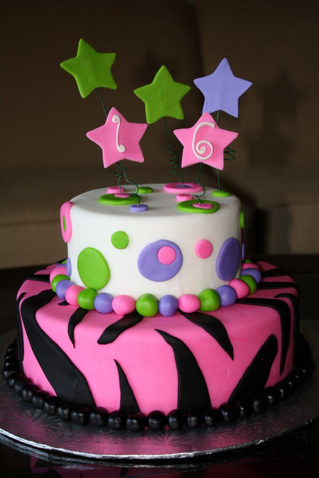 CC's Cake Decorating: Sweet 16 Cake