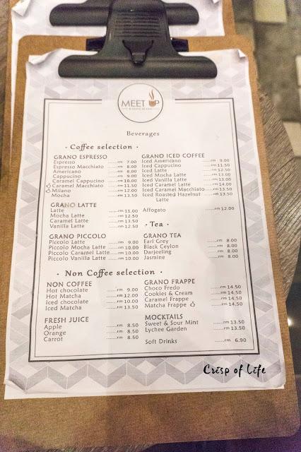 Meet Up Cafe at Grano De Cafe @ Hutton Lane, Penang