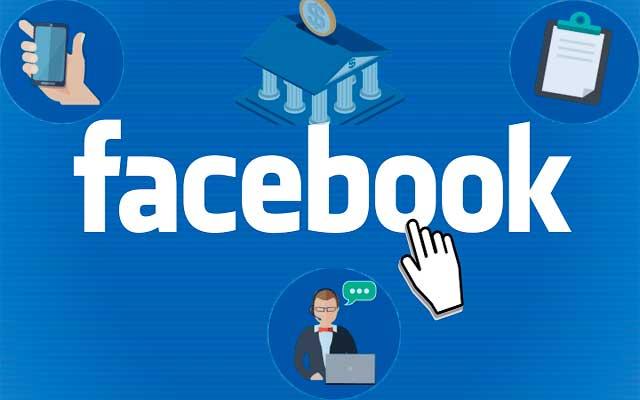 Facebook información bancaria