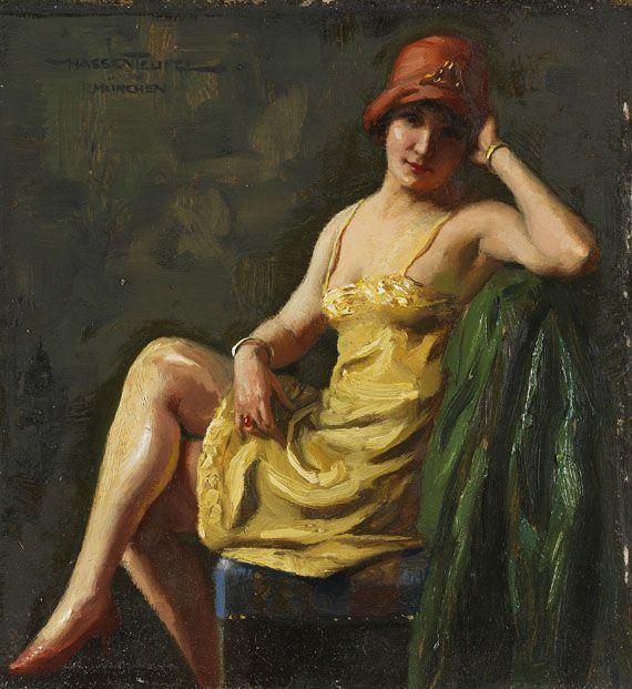 Hans Hassenteufel | Figurative Realist painter | Tutt'Art ...
