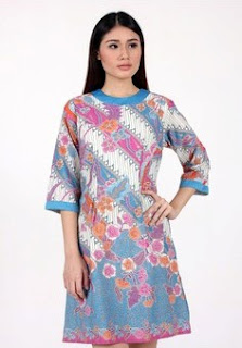 Gambar Model Dress Batik Modern
