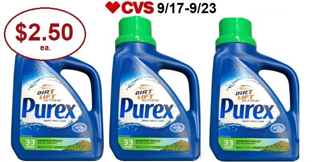 http://www.cvscouponers.com/2017/09/no-coupon-needed-purex-laundry.html