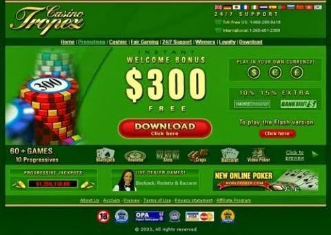 Casino tropez version flash