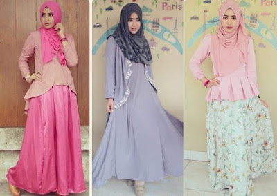 model terbaru baju muslim untuk pesta