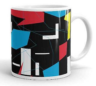 80s Abstract Art Mug