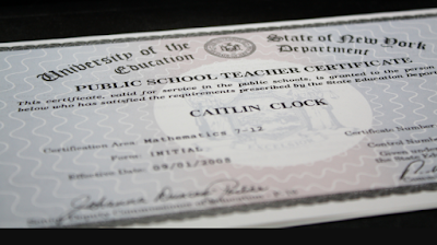 How to Get a Professional Teaching Certificate in Florida