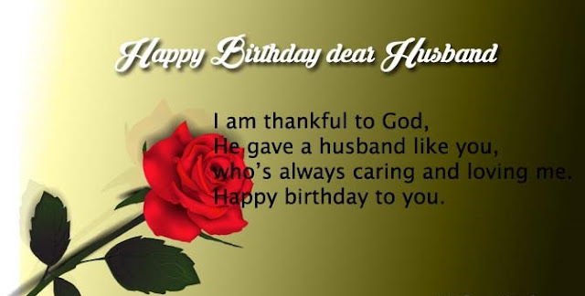 Happy Birthday Wishes for Husband