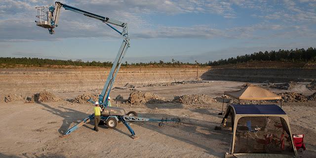 Palaeontologists digitally preserve important Arkansas dinosaur tracks