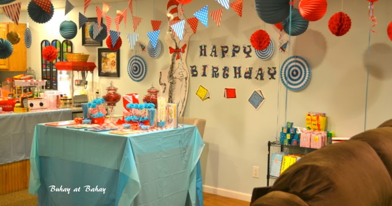 Life Amp Home At 2102 Dr Seuss Birthday Party