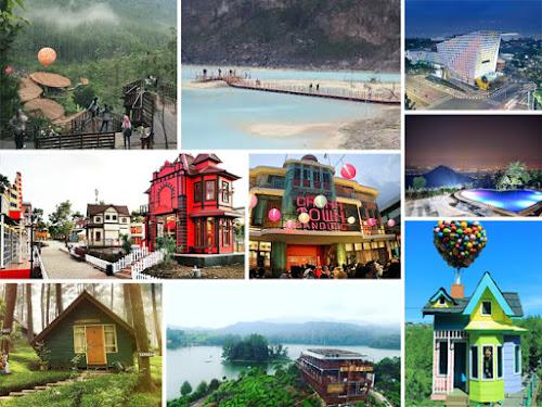 Tempat wisata favorit di Bandung tahun 2017