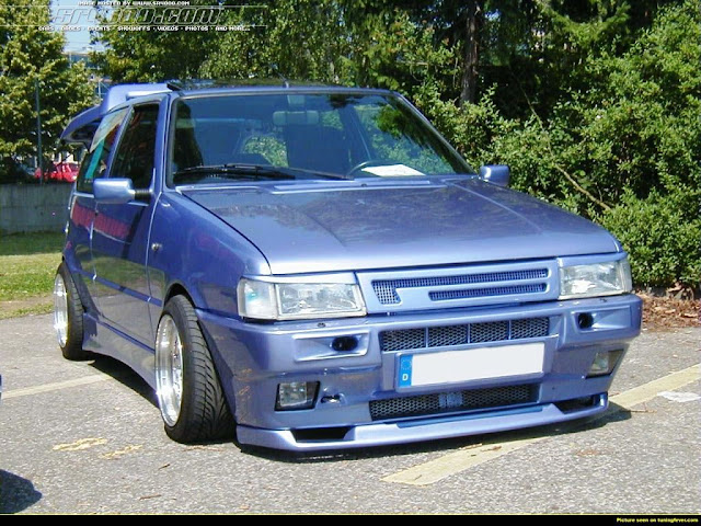 Fiat Uno Second Series (1989-1995)