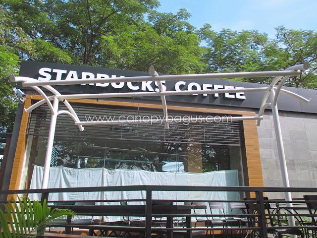 tenda kedai kopi