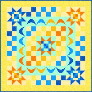 Quilt Inspiration Free Pattern Day Sun And Solstice Quilts
