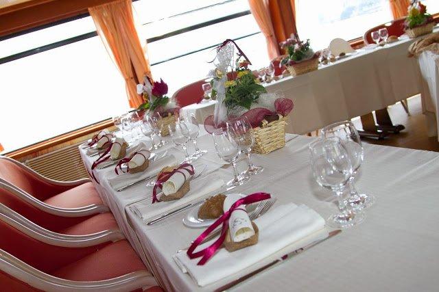 matrimonio tavolo imperiale