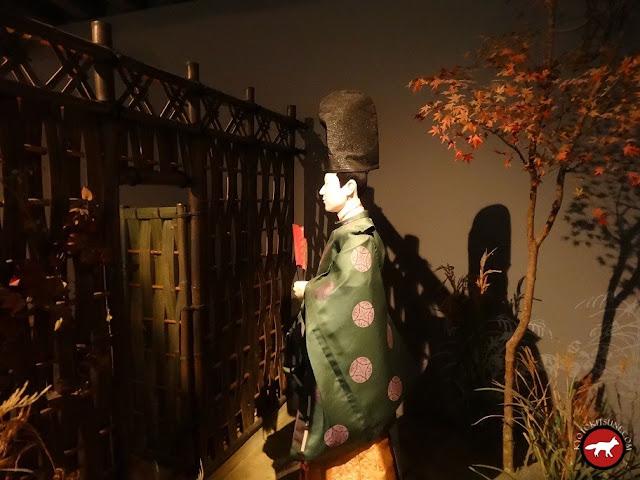 Le Genji rend visite à une courtisane